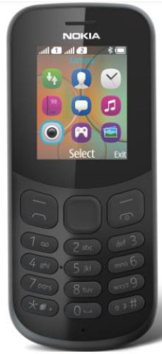 Telefon Mobil Nokia 130 (2017), Dual Sim (Negru)