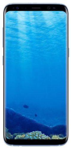 Telefon Mobil Samsung Galaxy S8 G950FD, Procesor Octa-Core 2.3GHz / 1.7GHz, Super AMOLED Capacitive touchscreen 5.8inch, 4GB RAM, 64GB Flash, 12MP, 4G, Wi-Fi, Dual Sim, Android (Albastru)