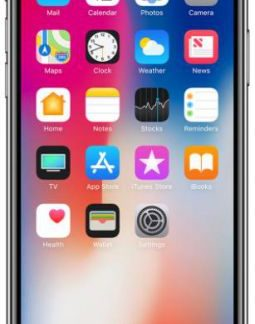 Telefon Mobil Apple iPhone X, iOS 11, OLED Multi-Touch display 5.8inch, 3GB RAM, 64GB Flash, Dual 12MP, Wi-Fi, 4G, iOS (Space Gray)