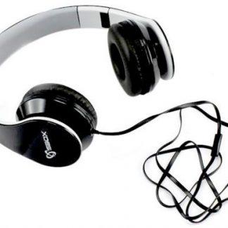 Casti Stereo SBOX HS-501B, Microfon (Negru)