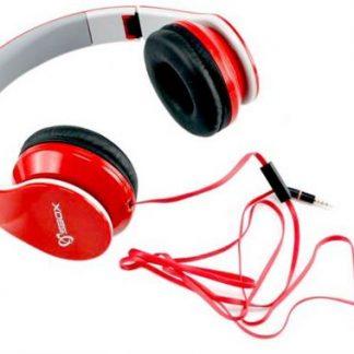 Casti Stereo SBOX HS-501R, Microfon (Rosu)