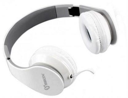 Casti Stereo SBOX HS-501W, Microfon (Alb)