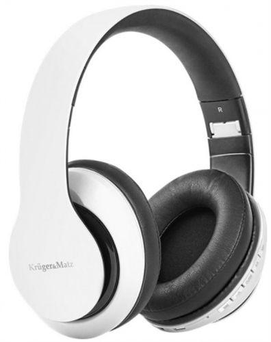 Casti Stereo Kruger&Matz Stree 2 KM0647, Bluetooth, Microfon (Alb)