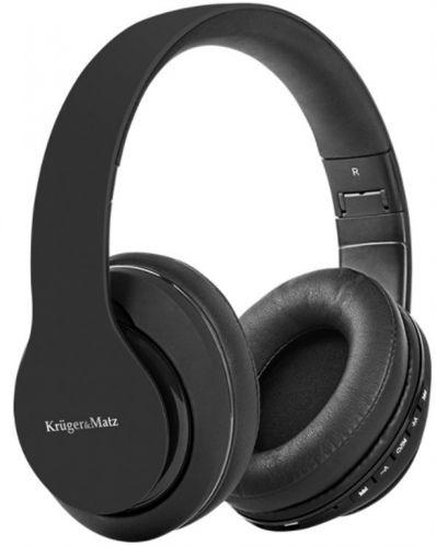Casti Stereo Kruger&Matz Stree 2 KM0646, Bluetooth, Microfon (Negru)