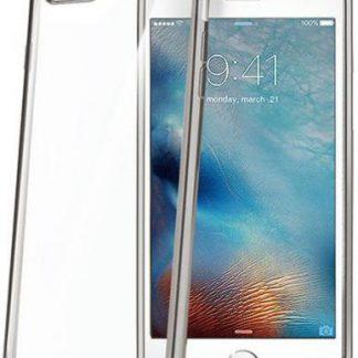 Protectie spate Celly LASER801SV pentru iPhone 7 Plus/8 Plus (Argintiu transparent)