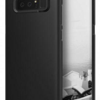Protectie spate Ringke Slim Black pentru Samsung Galaxy Note 8 (Negru)