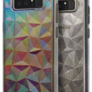 Protectie spate Ringke Prism Glitter Gray pentru Samsung Galaxy Note 8 (Gri cu sclipici)