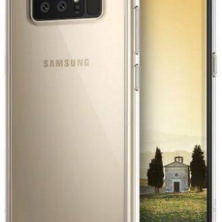 Protectie spate Ringke Fusion Clear pentru Samsung Galaxy Note 8 (Transparent)