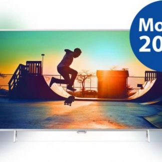 Televizor LED Philips 80 cm (32inch) 32PFS6402/12, FUll HD, Smart TV, Ambilight, Android TV, WiFi, CI+