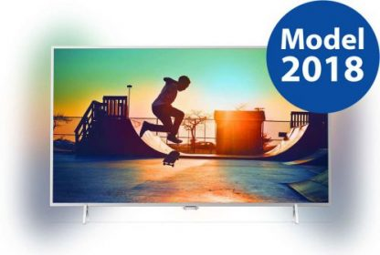 Televizor LED Philips 80 cm (32inch) 32PFS6402/12, FUll HD, Smart TV, Ambilight, Android TV, WiFi, CI+