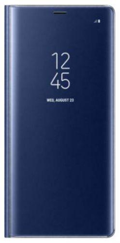 Husa Flip Cover Samsung EF-ZN950CNEGWW Clear View pentru Samsung Galaxy Note 8 (Albastra)