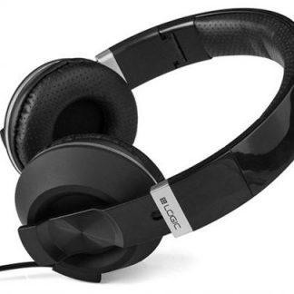 Casti Stereo Logic MH-8, microfon (Negru)