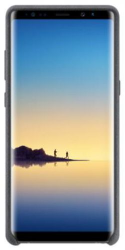 Protectie spate Samsung EF-XN950AJEGWW Alcantara pentru Samsung Galaxy Note 8 (Gri)