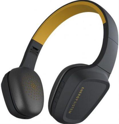 Casti Stereo Energy Sistem Headphones 3, Bluetooth (Negru/Galben)