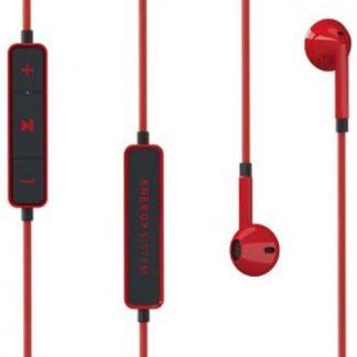 Casti Stereo Energy Sistem Earphones 1, Bluetooth (Negru/Rosu)