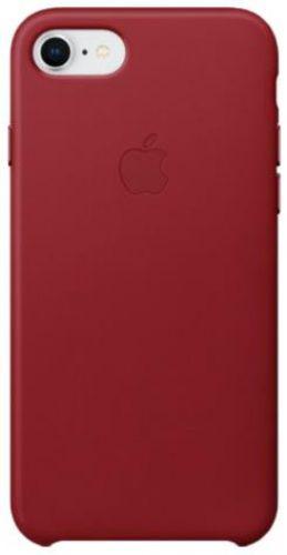Husa Protectie Spate Apple Piele pentru Apple iPhone 8 / iPhone 7 (Visinie)