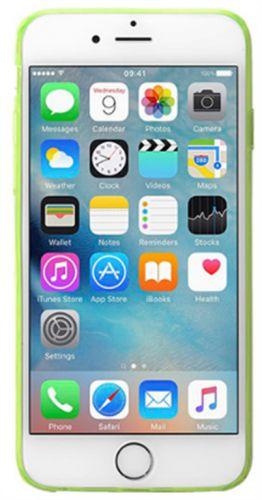 Husa Protectie Spate Cellular Line Fluo FLUOCASEIPH647G pentru Apple iPhone 6/6S (Verde)