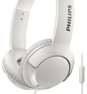 Casti Stereo Philips SHL3075WT/00, Microfon (Alb)