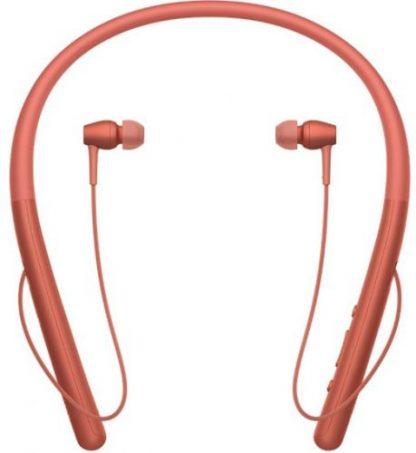 Casti Stereo Sony WIH-700R, Bluetooth, NFC (Rosu)