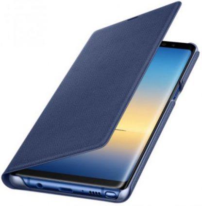 Husa Flip Cover Samsung Led View EF-NN950PNEGWW pentru Samsung Galaxy Note 8 (Albastru)