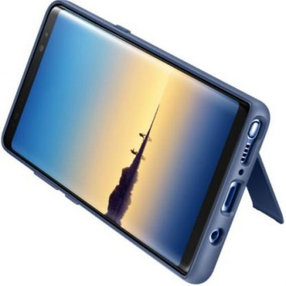 Protectie Spate Samsung Protective Cover EF-RN950CNEGWW pentru Samsung Galaxy Note 8 (Albastru)