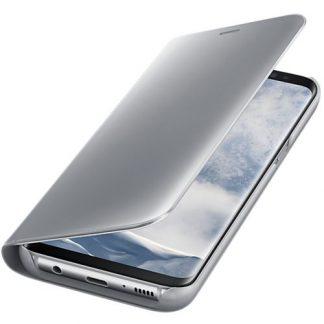Husa Clear View Cover Samsung EF-ZG950CSEGWW pentru Samsung Galaxy S8 (Argintiu)