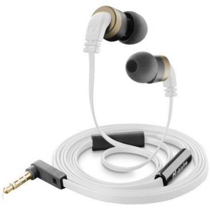 Casti Stereo Cellularline APMOQUITO2, Microfon (Alb)
