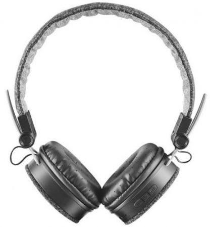 Casti Stereo Trust Fyber 21488, Bluetooth, Jack 3.5mm (Negru)