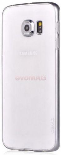 Protectie spate Devia Naked DVNKG925CC pentru Samsung Galaxy S6 Edge G925 (Transparent)