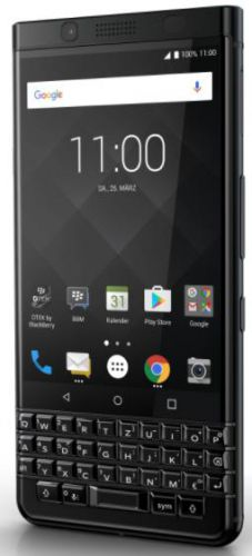 Telefon Mobil BlackBerry KeyOne Black Edition, Procesor Octa-Core 2.0GHz, IPS Capacitive Touchscreen 4.5inch, 4GB RAM, 64GB Flash, 12MP, Wi-Fi, 4G, Android (Negru)