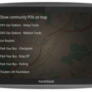 Sistem de navigatie TomTom GO Professional 520, Ecran 5inch, 16 GB, Harta Full Europe