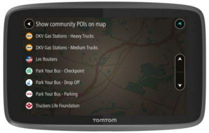 Sistem de navigatie TomTom GO Professional 6200, Ecran 6inch, 16 GB, Harta Full Europe