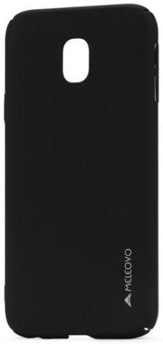 Husa Meleovo Metallic Slim pentru Samsung Galaxy J5 (2017) (Negru Mat)