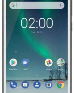 Telefon Mobil Nokia 2, Procesor Quad Core 1.3 GHz, LTPS LCD, 5.0inch, 1GB RAM, 8GB Flash, 8MP, Wi-Fi, 4G, Dual Sim, Android (Alb)