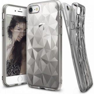 Husa Telefon Ringke Prism 011506, folie protectie inclusa, pentru iPhone 7 (Transparent)