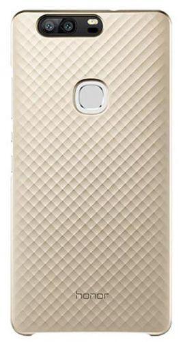Protectie Spate Huawei Faceplate 3D Texture pentru Huawei Honor V8 (Auriu)