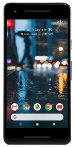 Telefon Mobil Google Pixel 2, Procesor Snapdragon 835, Octa-Core 2.45GHz / 1.9GHz, Amoled Capacitive touchscreen 5inch, 4GB RAM, 128GB Flash, 12.3MP, Wi-Fi, 4G, Android (Alb)