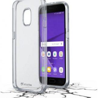 Protectie Spate Cellularline CLEARDUOGALJ317T pentru Samsung Galaxy J3 (2017) (Transparent)