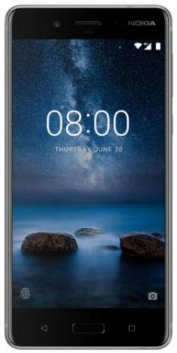 Telefon Mobil Nokia 8, Procesor Octa-Core 2.5 / 1.8GHz, IPS LCD Capacitive touchscreen 5.3inch, 4GB RAM, 64GB Flash, Dual 13MP, Wi-Fi, 4G, Dual Sim, Android (Argintiu)