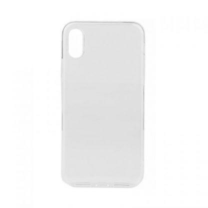 Protectie Spate Lemontti LEMSILSLIMIPHXCL, Pentru iPhone X, Ultra slim (Transparent)