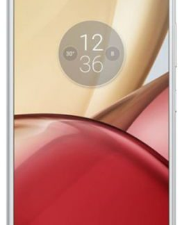 Telefon Mobil Motorola Moto M, Procesor Octa-core 2.2GHz, IPS LCD Capacitiv touchscreen 5.5inch, 32GB Flash, 3GB RAM, 16MP, Wi-Fi, 4G, Dual-Sim, Android (Argintiu)