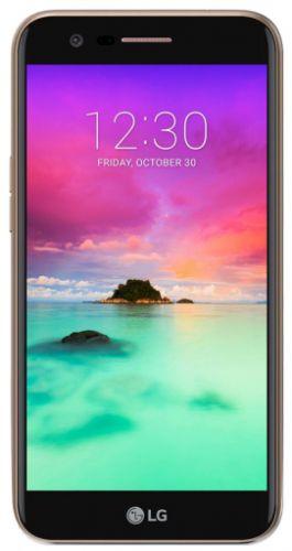 Telefon Mobil LG K10 2017, Procesor Octa-Core 1.5GHz, IPS LCD Capacitive touchscreen 5.3inch, 2GB RAM, 16GB Flash, 13MP, Wi-Fi, 4G, Single Sim, Android (Auriu)