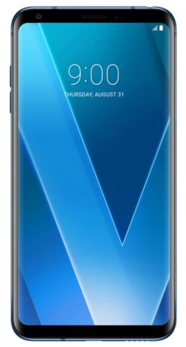 Telefon Mobil LG V30 Plus, Procesor Octa-Core 2.45GHz / 1.9GHz, P-OLED capacitive touchscreen 6inch, 4GB RAM, 128GB Flash, Camera Duala 16MP+13MP, 4G, Wi-Fi, Dual Sim, Android (Albastru)