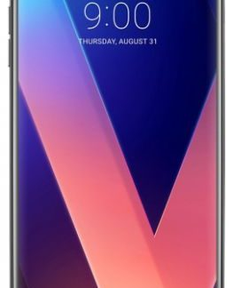 Telefon Mobil LG V30 Plus, Procesor Octa-Core 2.45GHz / 1.9GHz, P-OLED capacitive touchscreen 6inch, 4GB RAM, 128GB Flash, Camera Duala 16MP+13MP, 4G, Wi-Fi, Dual Sim, Android (Negru)