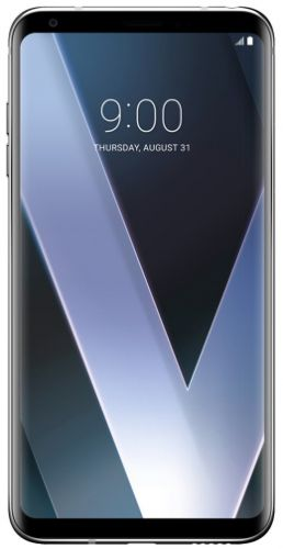 Telefon Mobil LG V30 Plus, Procesor Octa-Core 2.45GHz / 1.9GHz, P-OLED capacitive touchscreen 6inch, 4GB RAM, 128GB Flash, Camera Duala 16MP+13MP, 4G, Wi-Fi, Dual Sim, Android (Argintiu)