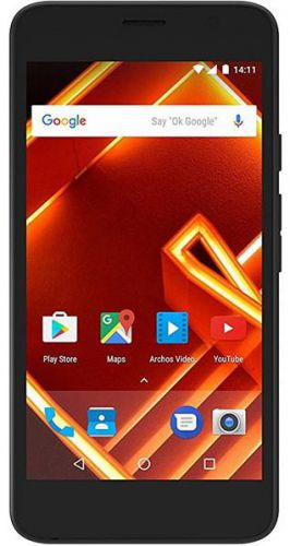 Telefon Mobil ARCHOS Access 50 , Procesor Quad-Core 1.3GHz, LCD Capacitive touchscreen 5inch, 1GB RAM, 8GB Flash, 8MP, Wi-Fi, 3G, Dual Sim, Android (Negru)