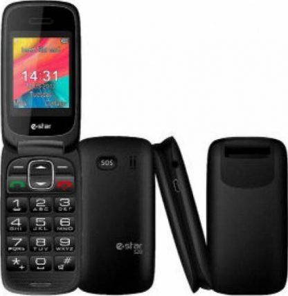 Telefon Mobil eStar S20, 2.0inch, 2G, buton SOS (Negru)