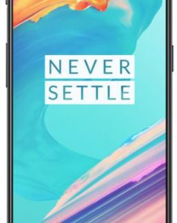 Telefon Mobil OnePlus 5T A5010, Procesor Octa-Core 2.45GHz / 1.9GHz, Optic AMOLED Touchscreen Capacitiv 6.01inch, 6GB RAM, 64GB Flash, 20 + 16 MP, Wi-Fi, 4G, Dual-Sim, Android (Negru)