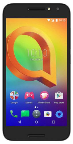 Telefon Mobil Alcatel A3, Procesor Quad-Core 1.25GHz, IPS LCD capacitive touchscreen 5.0inch, 1.5GB RAM, 16GB Flash, 13MP, Wi-Fi, 4G, Dual Sim, Android (Negru)