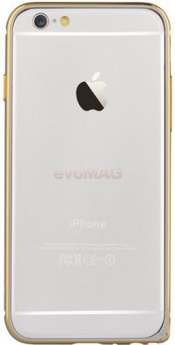 Bumper Devia Aluminium pentru iPhone 6 Plus (Argintiu)